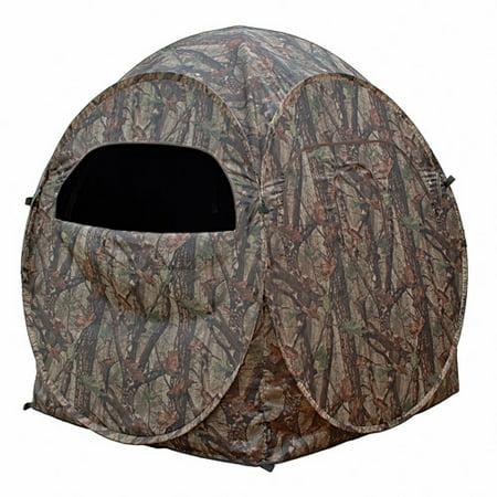 True Timber Camo Dome Spring Steel Ground Blind Walmart Com