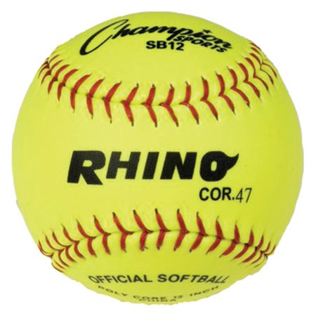 Rhino Fast Pitch 12 In Softball Dz