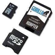 4GB GorillaFlash microSDHC Class 10 Memory Card with Mini Adapter