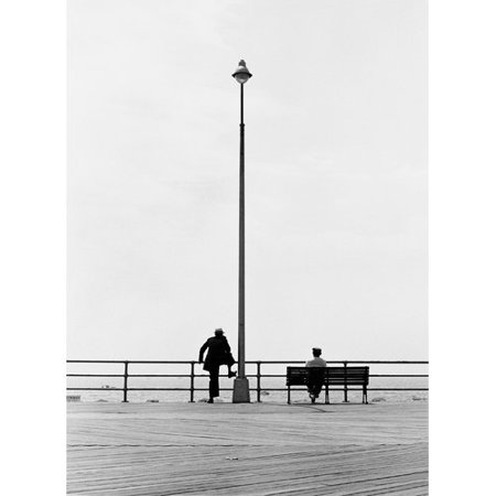Zatista Limited Edition Coney Island Boardwalk By Norman Lerner Photographic Print