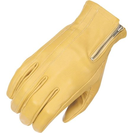 Highway 21 Recoil Leather Motorcycle Glove - Tan, All Sizes Tan Motorcycle Gloves