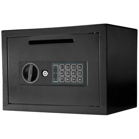 Winbest Steel Digital Keypad Depository Mail Money Deposit Cash Drop Safe Box