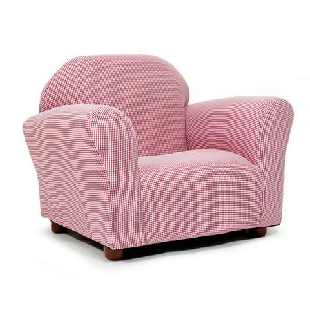 Keet Roundy Gingham Kids Chair