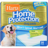 Hartz Home Protection Dog Training Pads 50 Pads - Pack of 2