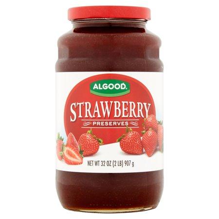Image of Algood Strawberry Preserves, 32 oz