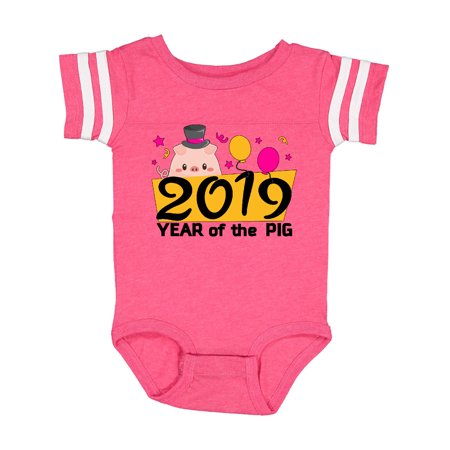 Year of the Pig- 2019 new year Infant Creeper