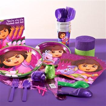 Dora's Flower Adventure Standard Party Pack for 8