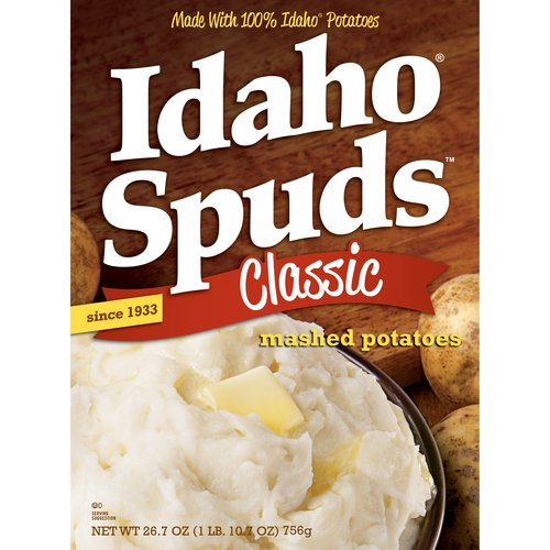 Idaho Spuds Classic Mashed Potatoes, 26.7 oz