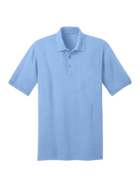 Port & Company Men's Comfortable Knit Collar Polo Jersey
