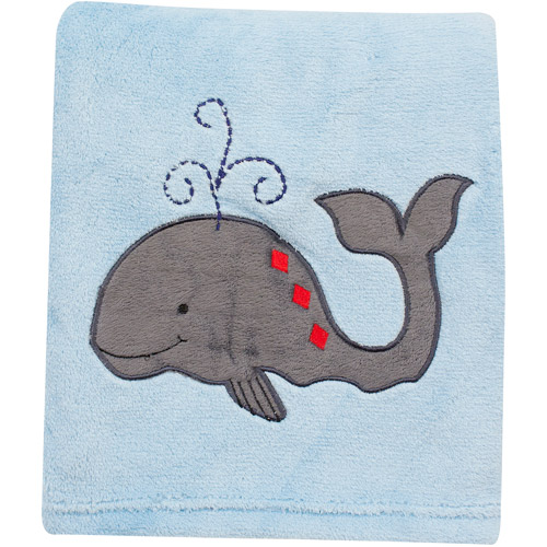 Bedtime Originals by Lambs & Ivy - Treasure Island Crib Blanket, Blue