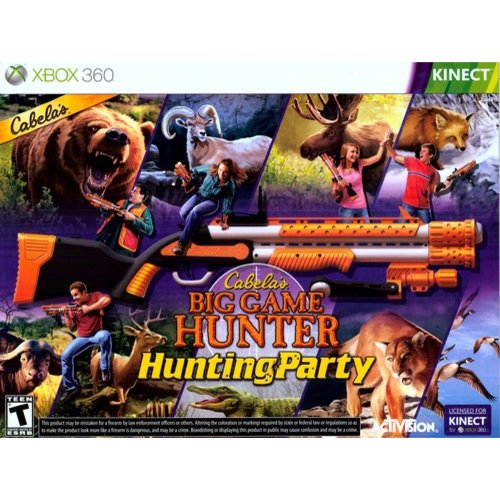 Cabela's Hunting Party with gun (Xbox 360)