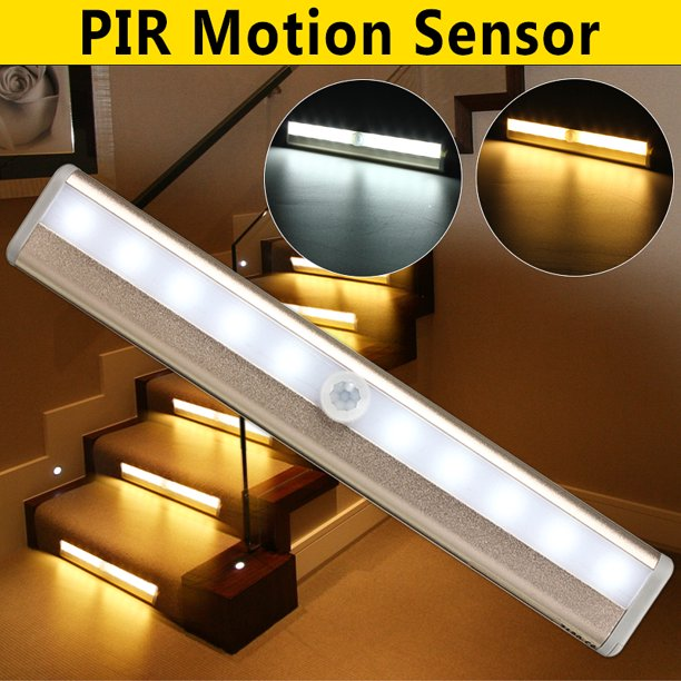 10 Led Night Light Bar Motion Sensor