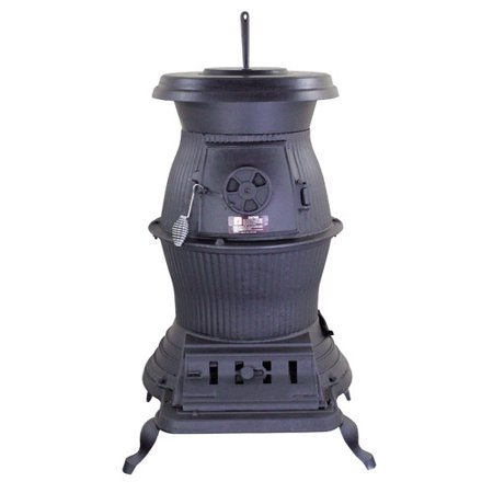 Pot Belly Wood Stoves (United States Stove Company Railroad Potbelly 1,500 sq. ft. Direct Vent Coal)