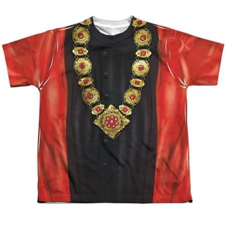 Star Trek Q Uniform Big Boys Youth Sublimated Polyester Shirt (Star Trek Dress Uniform)