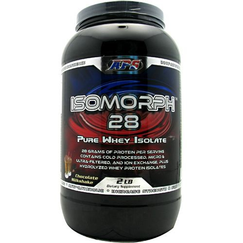 APS Nutrition IsoMorph 28, Chocolate Milkshake, 32 Oz
