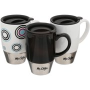 Mr. Coffee Couplet Travel 3-pack mug set