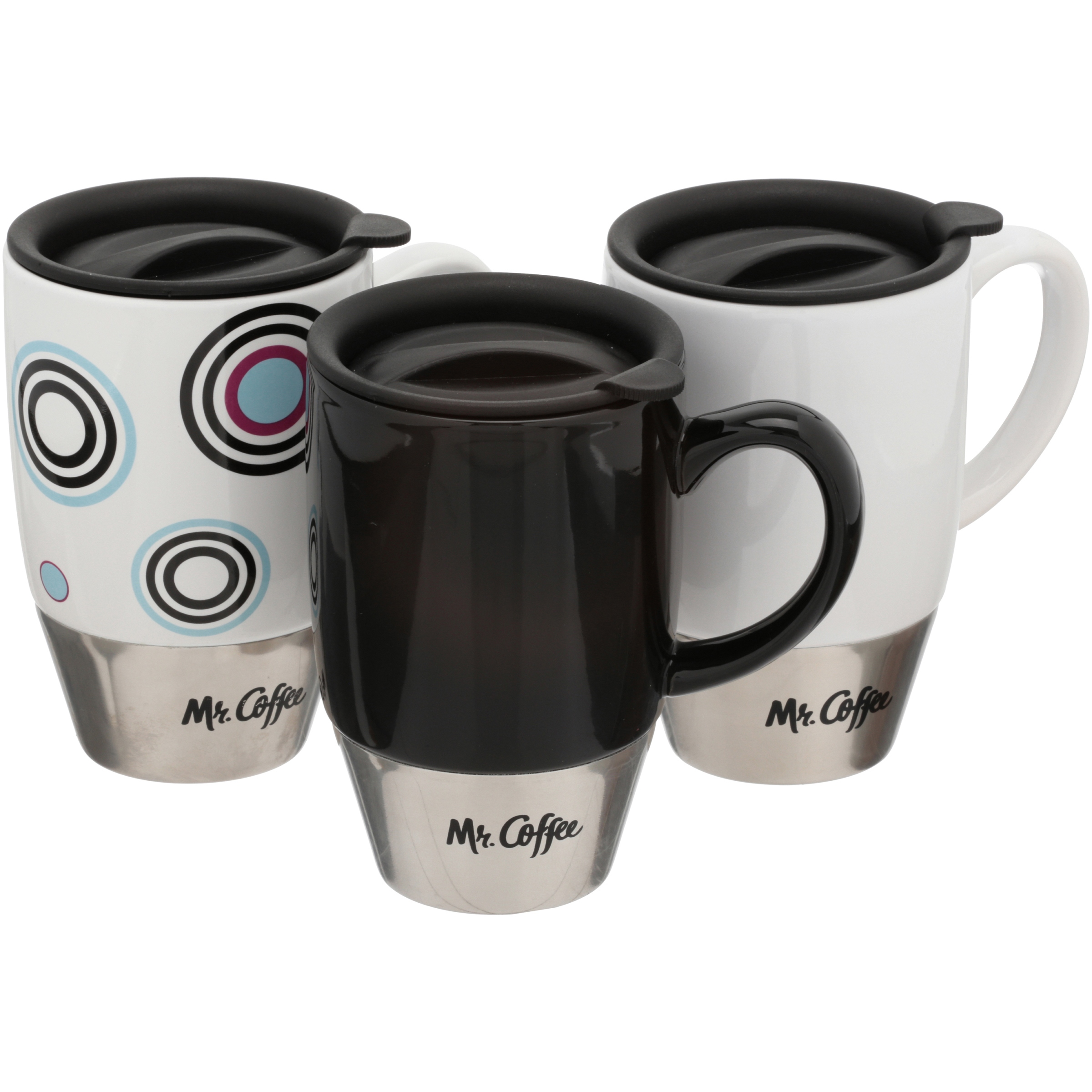 Mr. Coffee Couplet Travel Mug 3 ct Pack