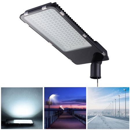 - DELight® 150W LED Road Street Light 18000lm 6500K IP65 Wired Spot Parking Lot Area Lighting Floodlight Lamp Outdoor