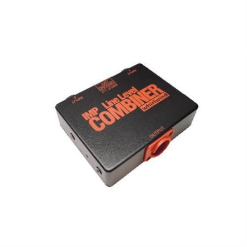 555-29120 WhirlwindLine Level Combiner, 2 XLRF In to 1 XLRM Out by