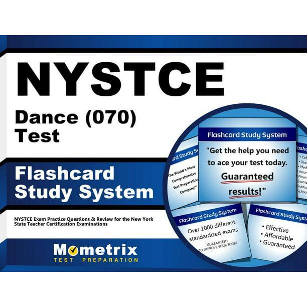 nystce slide flashcard exam study dance test