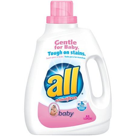 All Baby Liquid Laundry Detergent  94 5 Ounce  63 Loads