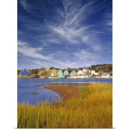 Great BIG Canvas Darwin Wiggett Poster Print entitled French River, Prince Edward Island,