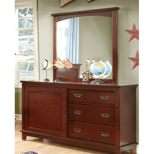 Hokku Designs Kenneth 3 Drawer Combo Dresser