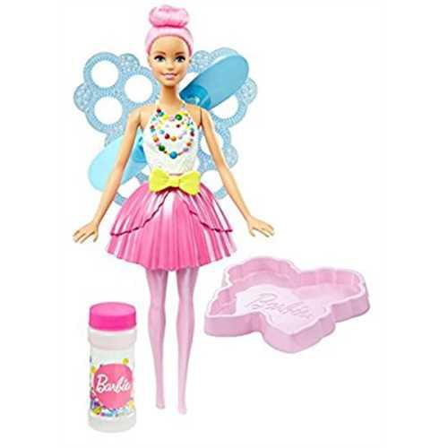 Barbie Dreamtopia Bubbletastic Pink Fairy Doll by MATTEL INC.