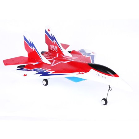2.4G 2-CH Glider RC Jets Radio Control Plane Airplane Aircraft Ready to (Ch Plane)