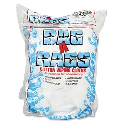 Bag A Rags 1 lb. Bag Cotton Wiping Cloths OFX00070