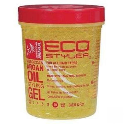 styling hair with eco styler gel eco styler moroccan argan styling gel 32 fl oz 9073
