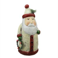 """14"""" Battery Operated LED Lighted Santa Claus Christmas Table Top Decoration"""