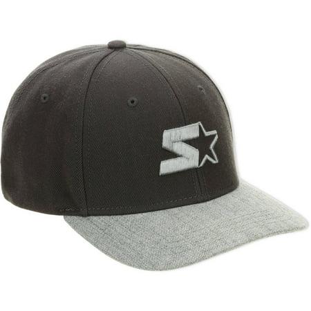 Starter Grey Wool Mens Hat