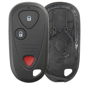 KeylessOption Just the Case Shell Key Fob Keyless Entry Remote for 2001-2006 Acura MDX / 2002-2005 Acura NSX / 2002-2006 Acura RSX