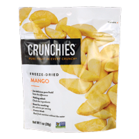 Crunchies Food Company Freeze-Dried Mango 1 oz Pkg