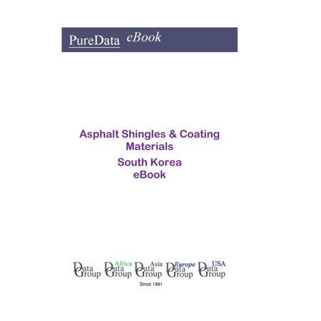 Asphalt Shingles & Coating Materials in South Korea - (Best Rated Asphalt Shingles)