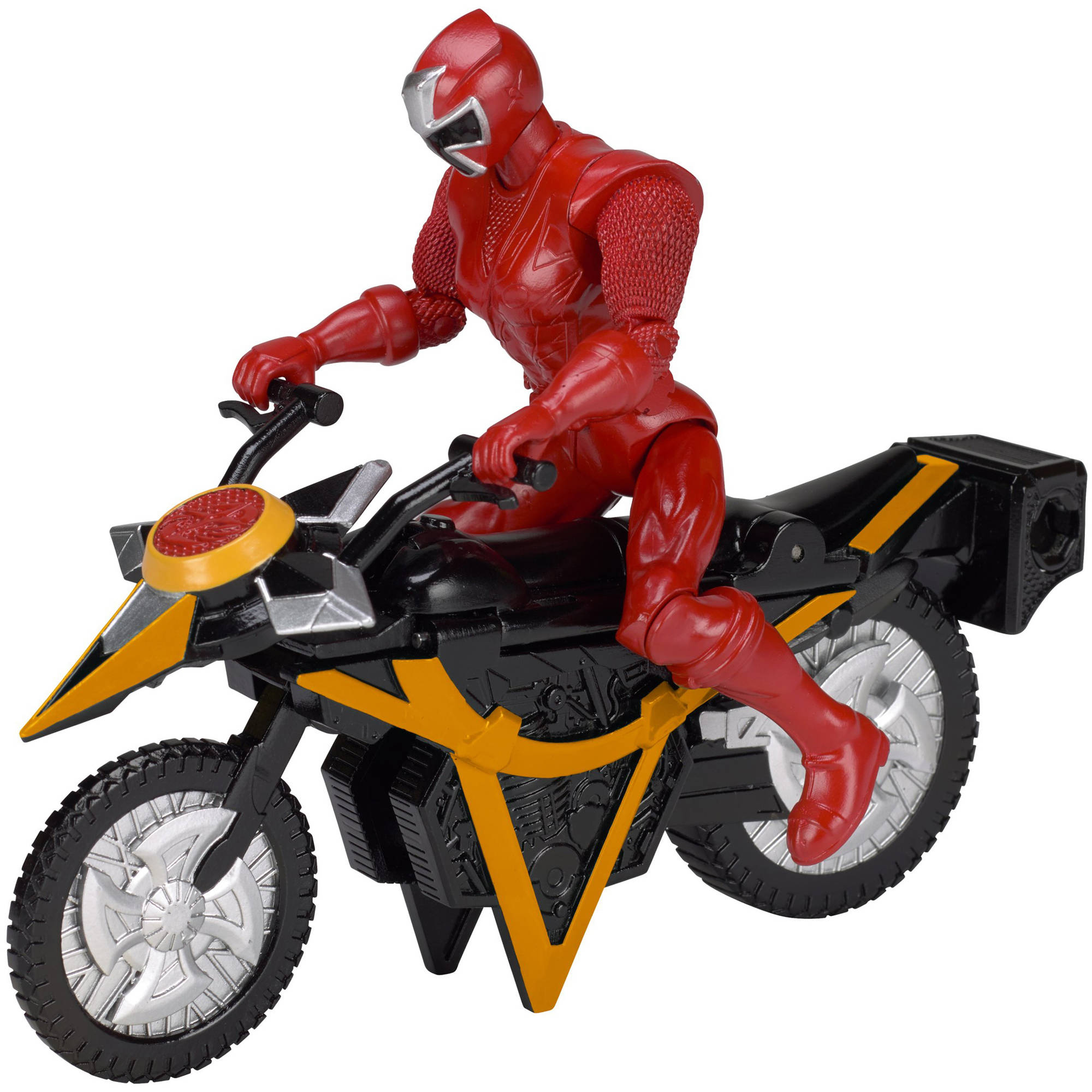 Power Rangers Ninja Steel Power Rangers Mega Morph Cycle with Red Ranger