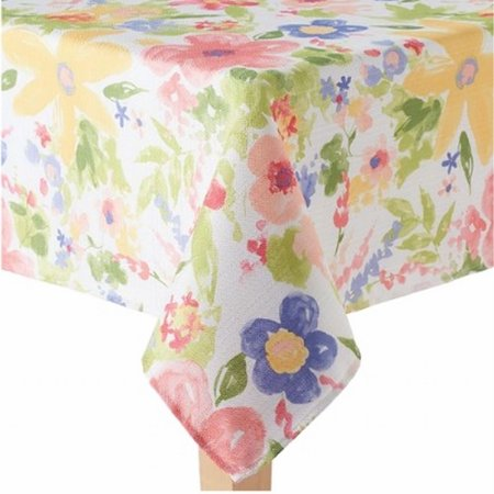 celebrate together watercolor floral tablecloth fabric table cloth