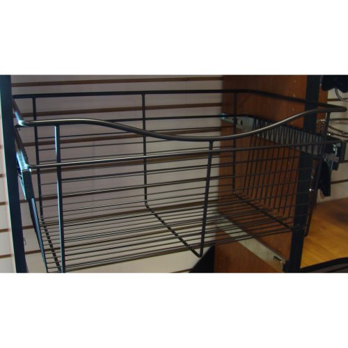 Rev-A-Shelf RCB-241418ORB-2 Pull-Out Baskets - Oil-Rubbed Bronze - Pack of 2