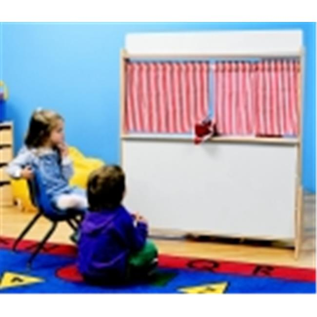 Childcraft Play Store And Puppet Theater With Dry-Erase Panels, As Shown