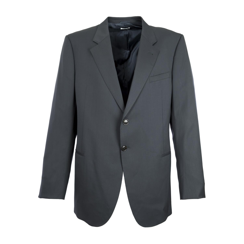 Giorgio Armani Men's Navy Blue Two Button Wool Blazer