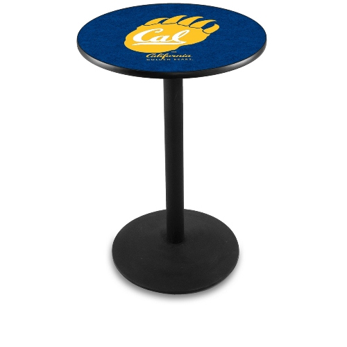 NCAA Pub Table by Holland Bar Stool, Black - University of California, 36'' - L214
