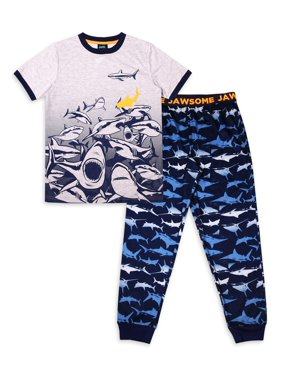 Jellifish Kids 2-Piece Pajama Sleep Set (Little Boys and Big Boys)
