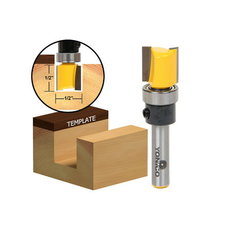 Hinge Mortising Router Bit (Hinge Mortising Router Bit - 1/2