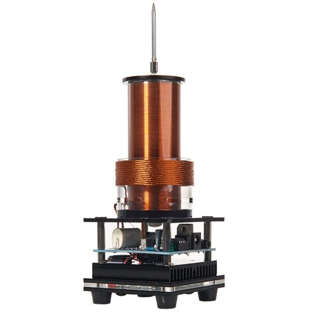 - Joytech Music Tesla Coil Arc Plasma Loudspeaker Wireless Transmission Experiment Desktop Toy Model DL01