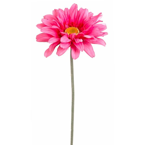Pack of 12 two tone pink gerbera daisy flower artificial for Allstate floral and craft