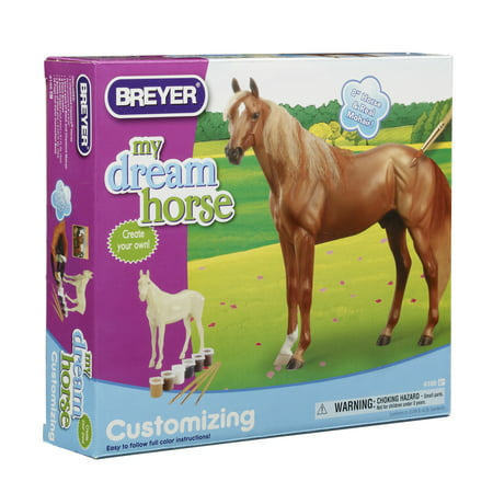 Breyer Classics Customizing - Thoroughbred Horse Craft Activity Set (1:12 Scale)