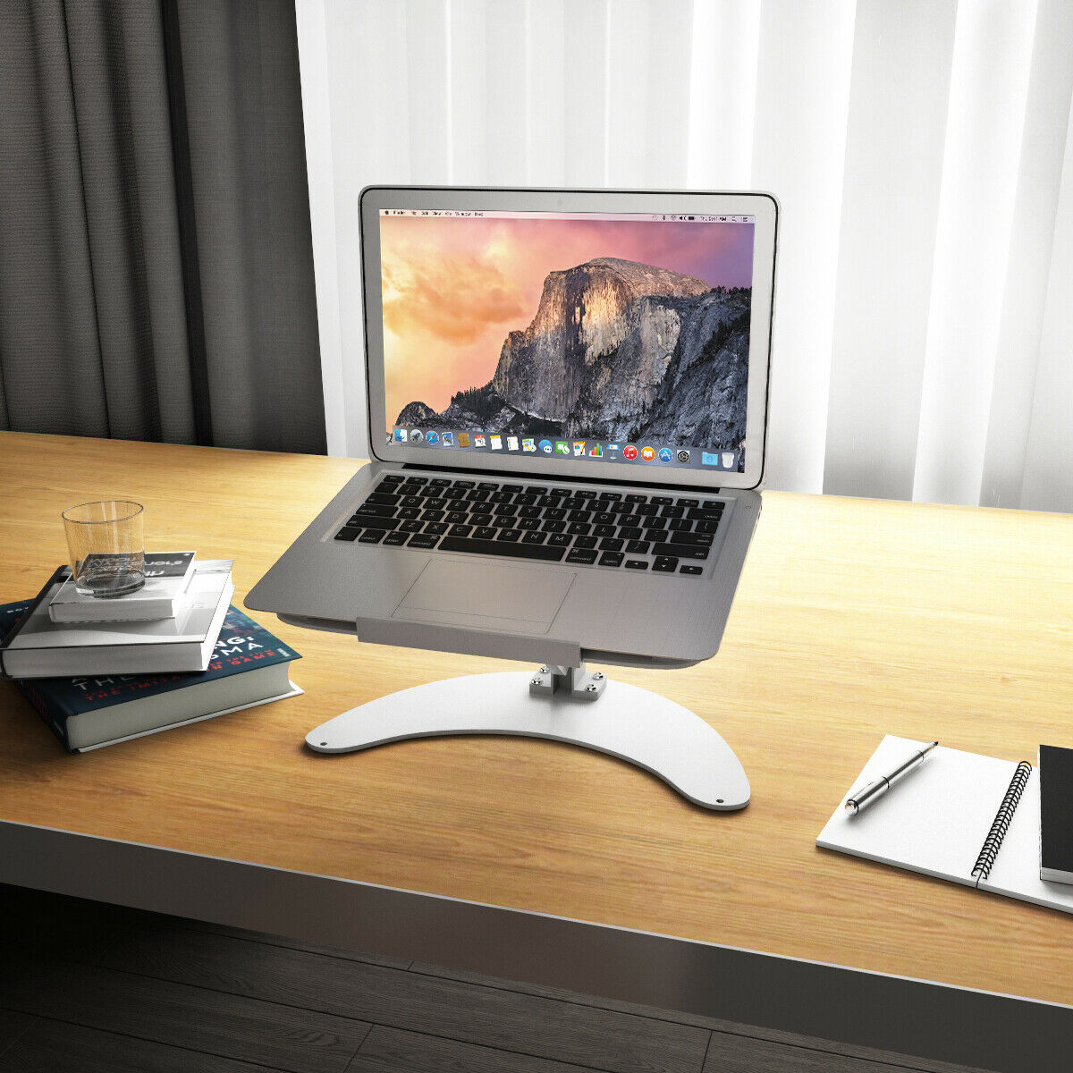 Portable Laptop Notebook Stand Aluminum Laptop Holder MacBook Cooling Stand