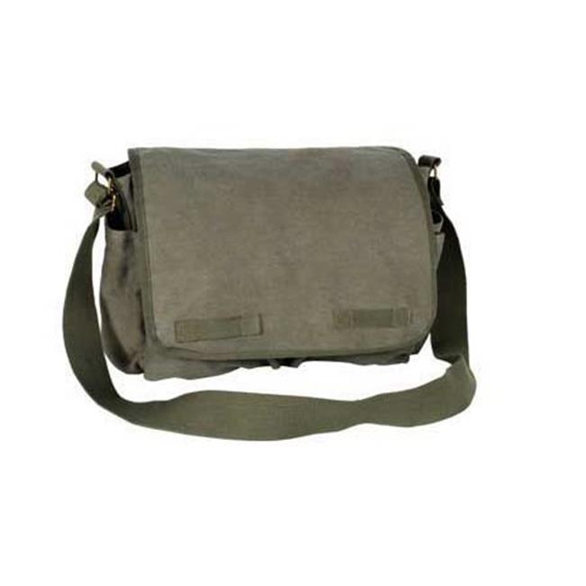dbd7ce85d6da Everest 15 in. Cotton Canvas Messenger Bag