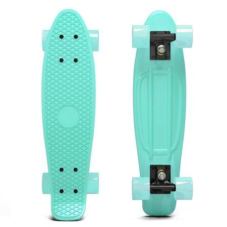 Pastel Penny Style Cruiser 22 Inch Board Plastic Retro Mini Skateboard Complete  Mint
